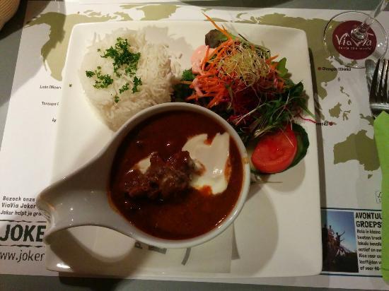 Via Via Mechelen : Hungarian goulash