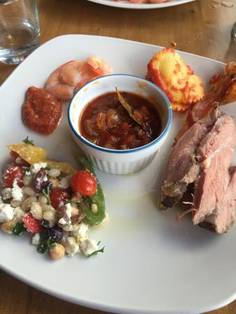 Paris, Canadá: Sample of Sunday brunch food