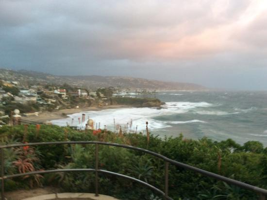 stormy day 1  31  16 - picture of crescent bay point park  laguna beach