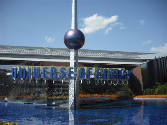 Epcot World Showcase: Universe of Energy