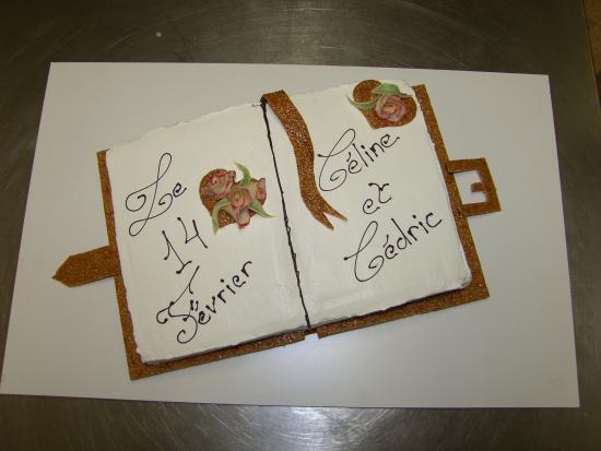 Cote d'Or, Francia: Gateau de mariage