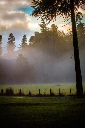Dunkeld, UK: Cathedral in mist