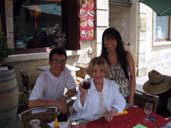 Villeneuve-les-Avignon, Francia: Saveurs d'Asie