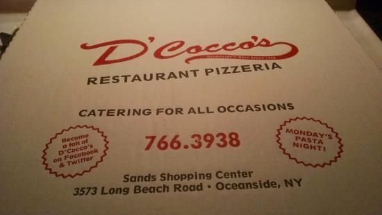 D'Cocco's Pizzeria Restaurant