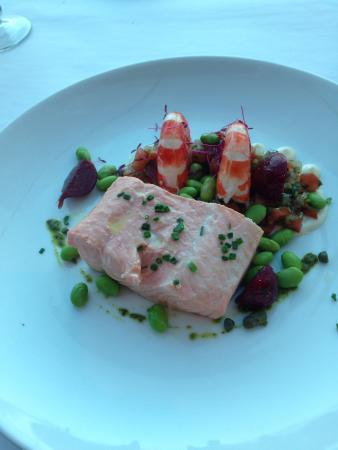 The Entrance, Australia: Delicious Salmon main