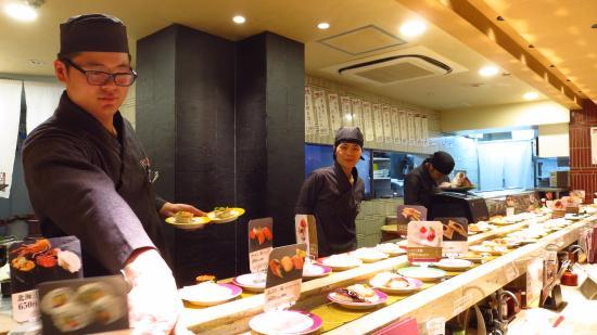 Kaiten Sushi CHOJIRO Shijyokiyamachi