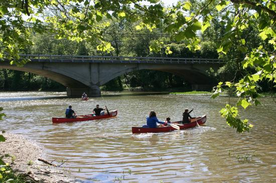 Kayak or canoe down the big darby creek river picture for The big canoe