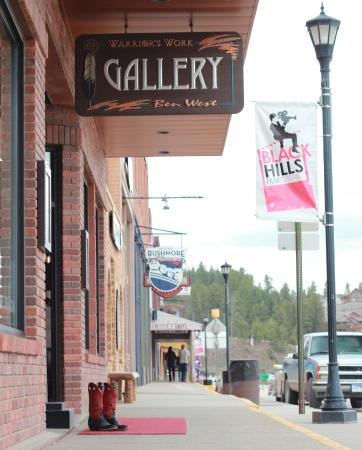 Warrior's Work & Ben West Gallery: Located at 277 Main Street in Hill City, SD