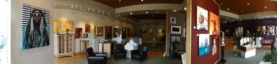 Warrior's Work & Ben West Gallery: Inside the gallery we are always changing and updating to keep things fresh!