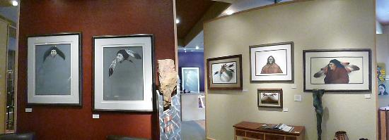Warrior's Work & Ben West Gallery: One of the largest selections of Frank Howell's work.