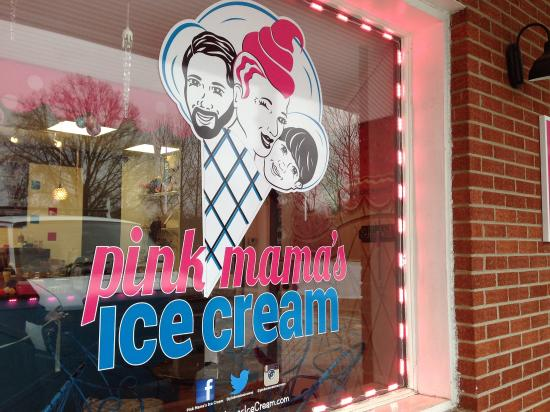 Travelers Rest, Carolina del Sud: Pink Mama's Ice Cream