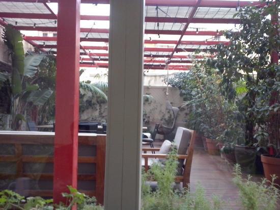 Praktik Garden: La sala comune e la terrazza
