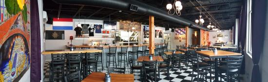 Spring Lake, MI: Another view of Taproom-Panoramic View
