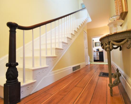 Skaneateles, NY: Elegant front staircase