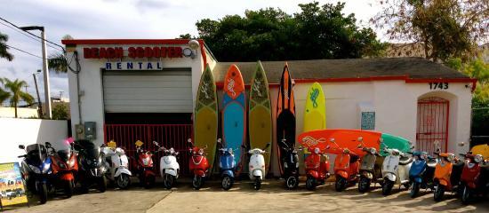 Beach Scooter Rentals