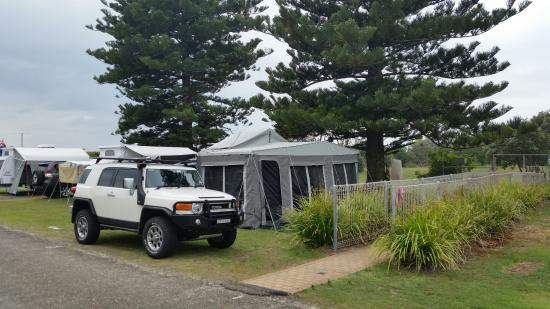 North Coast Holiday Parks Hawks Nest Beach Imagem