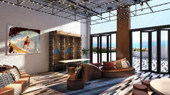 Hermosa Beach, CA: New Lobby Coming Soon