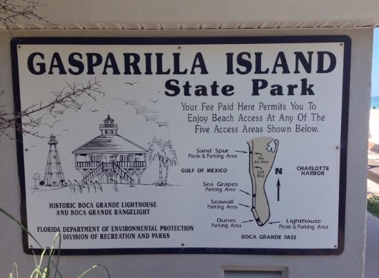 Gasparilla Island State Park: Para descobrir pela Florida, praias calmas e limpas.