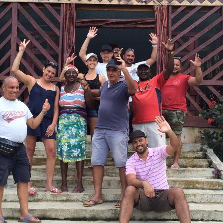 Sipaliwini District, Surinam: gezellige gasten om het resort