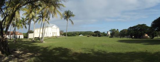 Grand Bourg, Guadalupe: le château Murat et son moulin