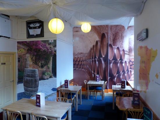 Garfield's Tapas and Wine Bar: Barrels