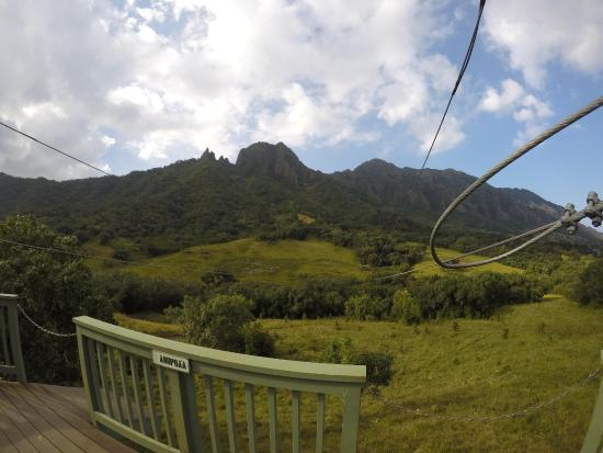 Kaneohe, Χαβάη: A view from the lines