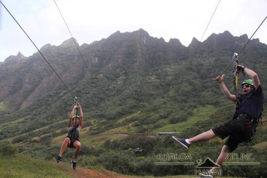 Kaneohe, Havaí: Fun on the Zip Line