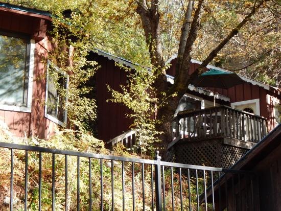Trinity Center, Californië: View cabin