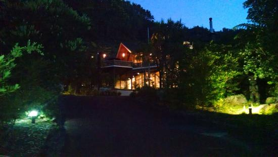Pauanui, Neuseeland: Evening glow