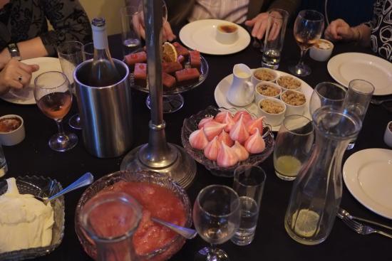 Sowerby Bridge, UK: Desserts