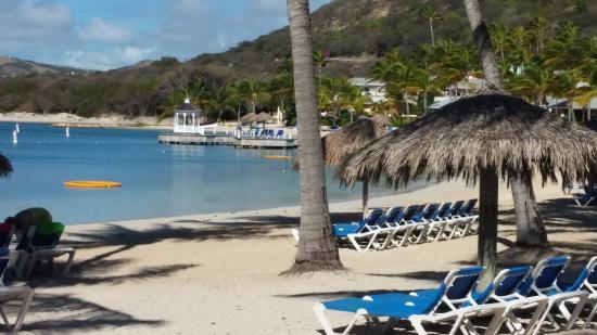 Mamora Bay, Antigua: The beach bay side