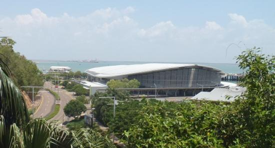 Darwin Deluxe Apartments: Overlooks Convention Centre