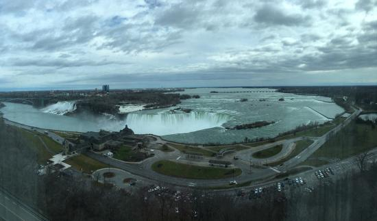 ‪‪Marriott Niagara Falls Fallsview Hotel & Spa‬: View from the room‬