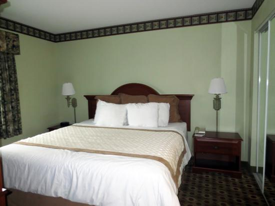 Hawthorn Suites by Wyndham Franklin / Milford Area: Excellent bedding!