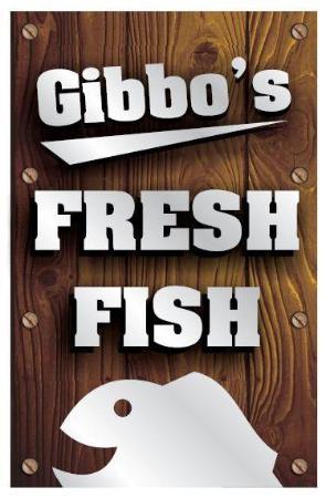 Whakatane, Nieuw-Zeeland: Gibbos Fresh Fish