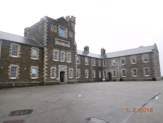 Falmouth, UK: barracks