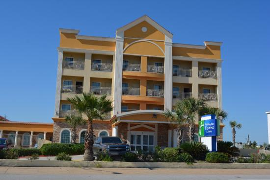 Holiday Inn Express Hotel Suites Galveston West Seawall