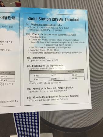 Incheon, Sydkorea: Schedule