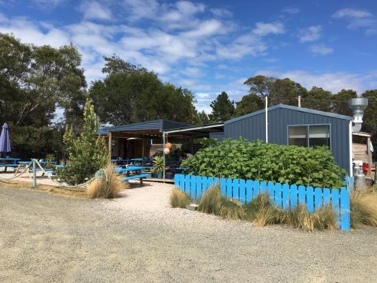Coles Bay, Australia: oyster farm marine
