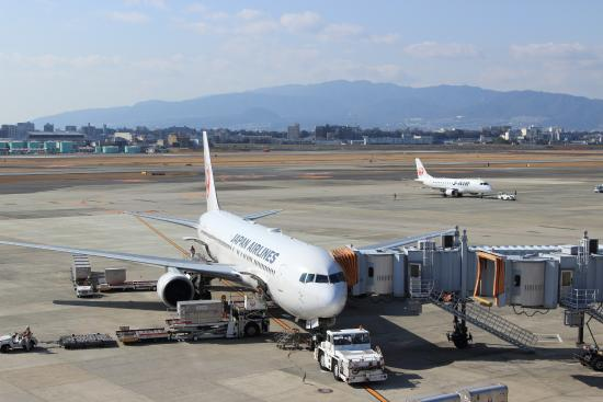 Itami, Japón: 駐機場と滑走路