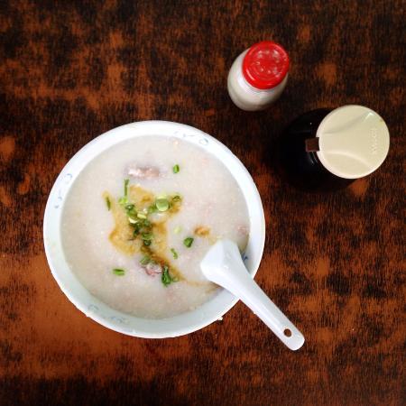 Ah Chiang's Porridge: Mixed Pork Porridge