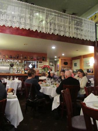 La Mirabelle : Lower and Upper Level Dining Areas
