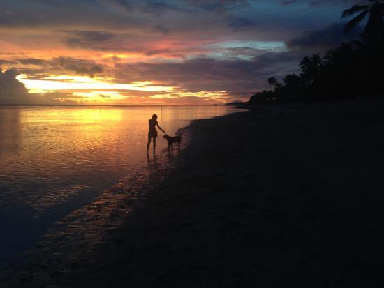 Saleapaga, ساموا: Manusina beach