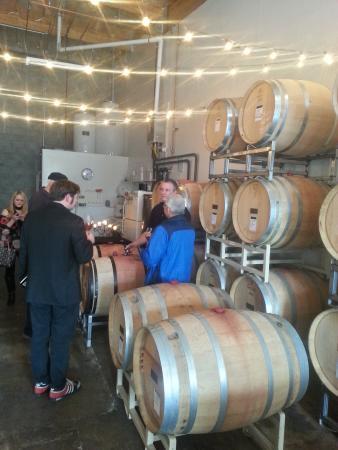 Healdsburg, Kalifornien: barrel tasting