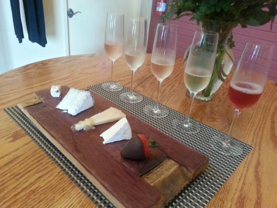 Healdsburg, Californien: Champagne tasting