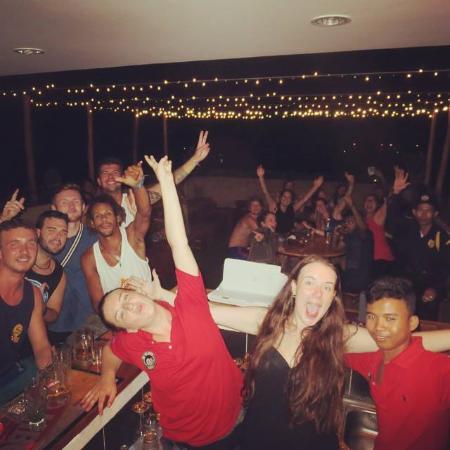 Kampot, Kambodsja: Gettin' wild!