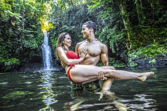 Samoa: Afu Aau Waterfall