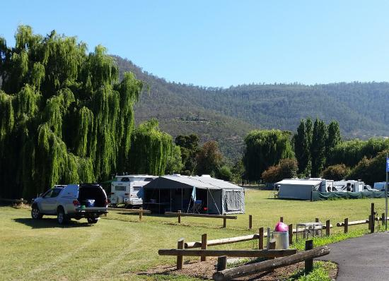 New Norfolk, Australia: Camp Grounds