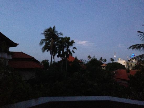Tanjung Benoa, Indonesia: 部屋から見える朝焼け