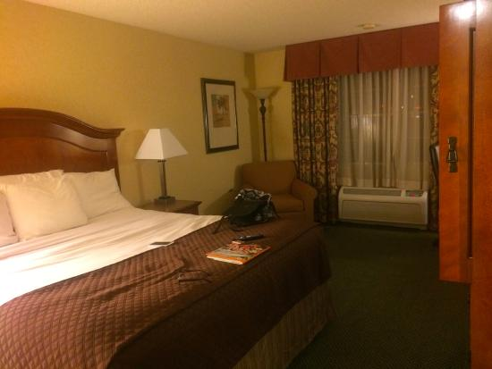 Red Lion Hotel Portland Airport : The bed was very comfortable